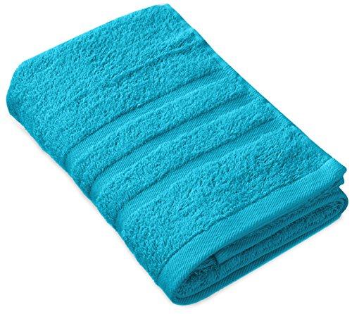 Haruka・Style(ハルカ・スタイル) 吸水 コンパクトバスタオル 100×50cm ブルー