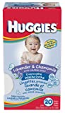 Huggies Lavender & Chamomille Baby Washcloth 20-Count Pack (Pack of 4)