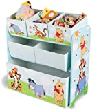 Delta TB84686WP Multi Toy Organizer - Holz mit Canvas  -...