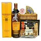 Glenmorangie Luxury Hamper - Whisky and Delicious Goodies. A Wicker Hamper with a Scottish Theme. By Wickers.