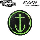 CAPTAIN FIN 【キャプテンフィン】 ステッカー ANCHOR SMALL [直径50mm] アンカースモール