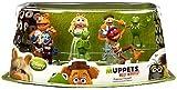 The Muppets Disney Muppets Most Wanted Movie Exclusive 7-Piece PVC Figurine Playset [Kermit, Miss Piggy, Fozzie, Gonzo, Animal, Walter & Constantine]