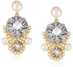 "kate spade new york ""Palace Gems"" Statement Earrings"