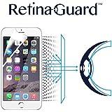 RetinaGuard iPhone6/6s ブルーライト90%カット保護フィルム(ホワイトベゼルタイプ)