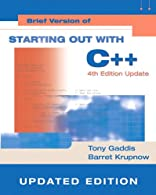 Starting Out with C++ by Gaddis