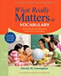 What Really Matters in Vocabulary: Re...