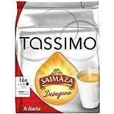 Tassimo Cápsulas de Café Saimaza Desayuno, Café Molido de Tueste Natural, 16 T-Discs