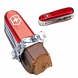Milk Chocolate Praline Swiss Army Knife - Ideal for Fathers Day Gifts x1