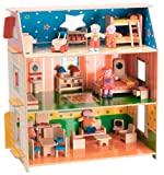 Alex Toys My Dollhouse with Furniture and Dolls