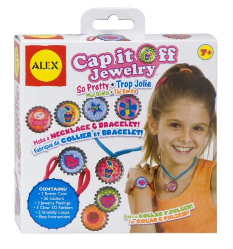ALEX Toys Do-it-Yourself Wear! Cap It Off Jewelry -  So Pretty 756P - 1