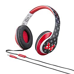 eKids Minnie Mouse Over the Ear Headphones with Volume Control by iHome - DM-M403