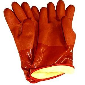 Bellingham SB460M Snow Blower PVC Glove, Orange, Medium
