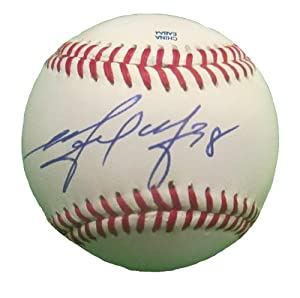 Michael Morse Autographed Signed ROLB Baseball, San Francisco Giants, Washington...