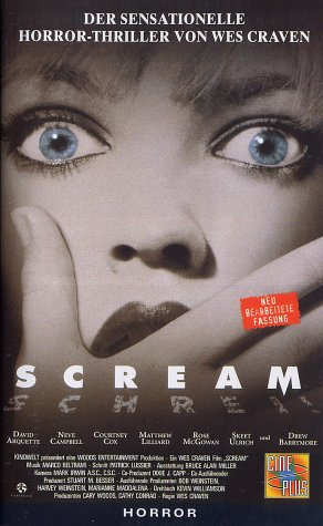 Scream - Schrei! [VHS]
