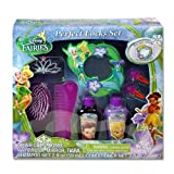 Disney Fairies Tinkerbell 8 Piece Hair Gift Set Includes BLING Tiara, Mirror, shampoo, conditioner, 2 hair snaps, brush & Comb!