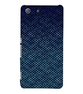 EPICCASE Blue Bubbles Mobile Back Case Cover For Sony Xperia M5 (Designer Case)