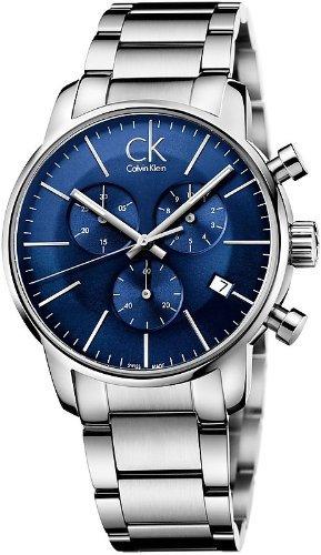 Men'S Calvin Klein Ck City Chronograph Dress Watch K2G2714N