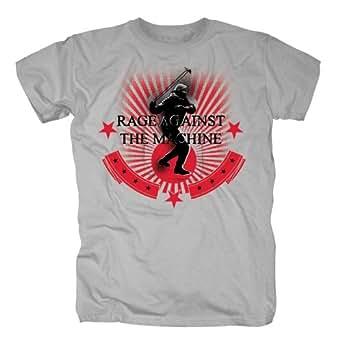 Rage Against the Machine Herren Band T-Shirt - Stone Thrower Redux (S)