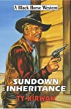 img - for Sundown Inheritance (Black Horse Western) book / textbook / text book