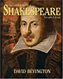 The Complete Works of Shakespeare (0321366263) by Bevington, David