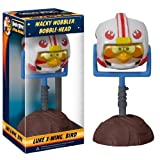Luke X-Wing Bird ~6.5 Bobble Head Figure: Angry Birds Star Wars Wacky Wobbler Series