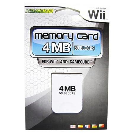 KMD Wii/Gamecube Komodo Memory Card 4MB 59 Blocks
