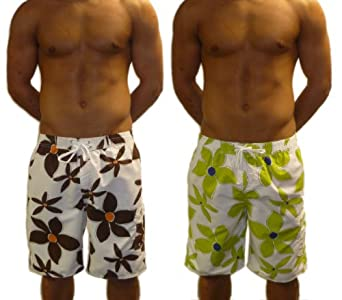 Mens Quick Drying Swimming Trunks Shorts (XLarge 36-38 ...