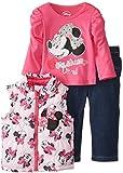 Disney Baby-Girls Infant Minnie Mouse 3 Pieces Nylon Vest Set