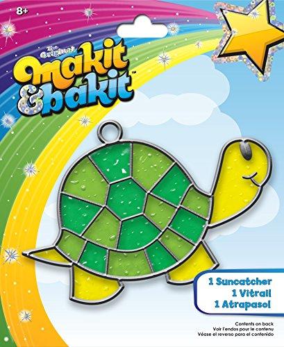 colorbok-tb-61816-makit-and-bakit-suncatcher-kit-turtle