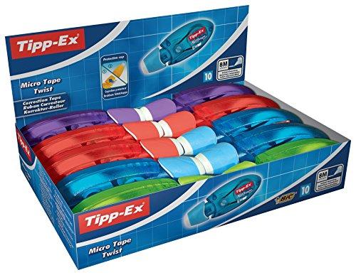 bic-tipp-ex-micro-tape-twist-pack-de-10-cintas-correctoras-5-mm-x-8-m-multicolor