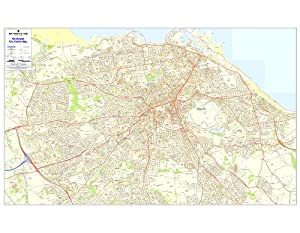 Postcode City Sector Map of Edinburgh