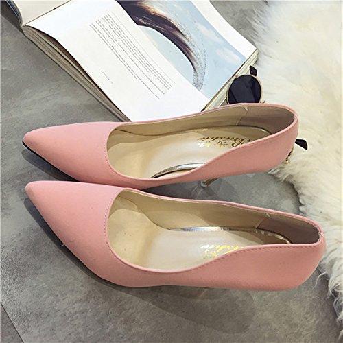 Lowest Price! Spritech(TM) Women's Girls Fashion Pointed Toe Stilettos Heel Elegant Pumps Shoes for ...
