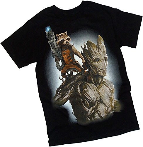 Fully Loaded -- Groot & Rocket Raccoon -- Guardians Of The Galaxy T-Shirt