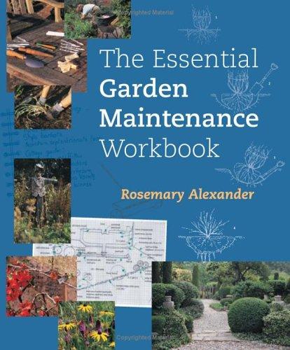 The Essential Garden Maintenance Workbook088192797X