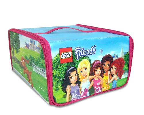 Neat-Oh! Lego Friends Zipbin Heartlake Place Transforming Toy Box front-876766