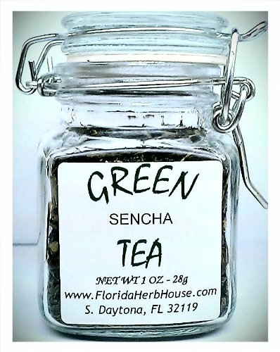 Green Tea 1.0 Oz. (28G) - Organic Eco Friendly Gifts! - Eco-Spices!
