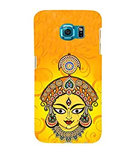 iFasho Godess Durga head Back Case Cover for Samsung Galaxy S6 Edge Plus