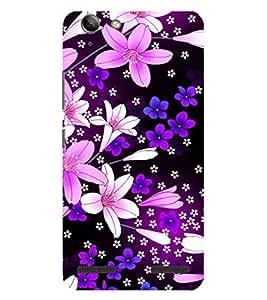 Evaluze flower Printed Back Case Cover for LENOVO VIBE K5