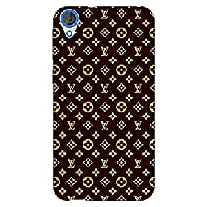 Jugaaduu Louis Vuitton LV Back Cover Case For HTC Desire 820Q Dual Sim