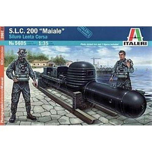 S.L.C.200 Maiale Siluro Lenta Corsa - 1:35 Scale