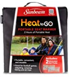 Sunbeam Heat to GO Portable Seat Warmer, Black