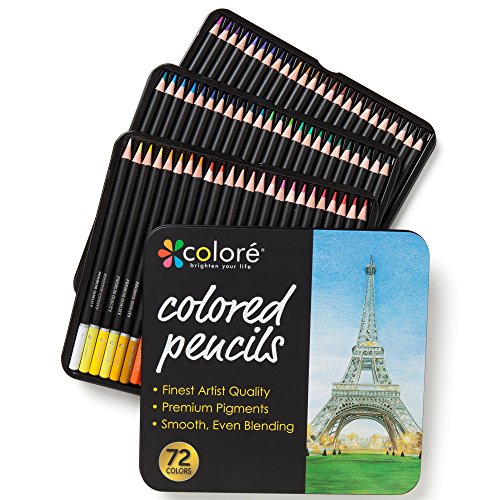 Colore-Colored-Pencils-72-Premium-Pre-Sharpened-Color-Pencil-Set-For-Drawing-Coloring-Pages-Great-Art-School-Supplies-For-Kids-Adults-Coloring-Books-72-Colors