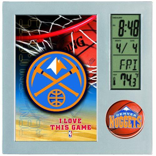 NBA Denver Nuggets Digital Desk Clock