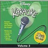 Disney Karaoke, Vol. 3 CD