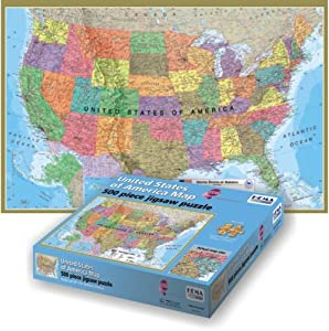 Maps International USA 500-Piece Puzzle