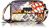 Vera Bradley All in One Crossbody for Iphone 6+ , Painted Feathers