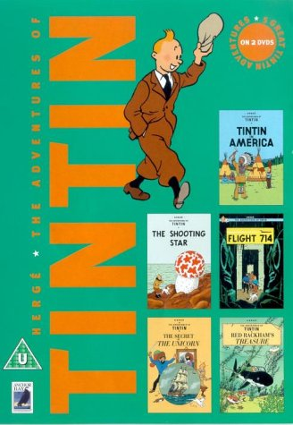 The Adventures Of Tintin - Vol. 5 [1990] [DVD]