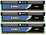 Corsair 6 GB PC3-12800 1600MHz 240-Pin DDR3 Core i7 Triple Channel Memory Kit CMX6GX3M3A1600C9