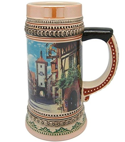 Awardpedia Ceramic Beer Stein Tankard German Rothenberg