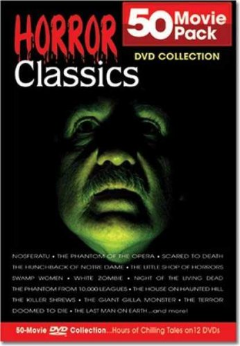 Horror Classics 50 Movie Pack Collection - DVD
